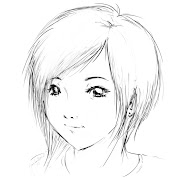 dibujos anime short hair by artisticjme