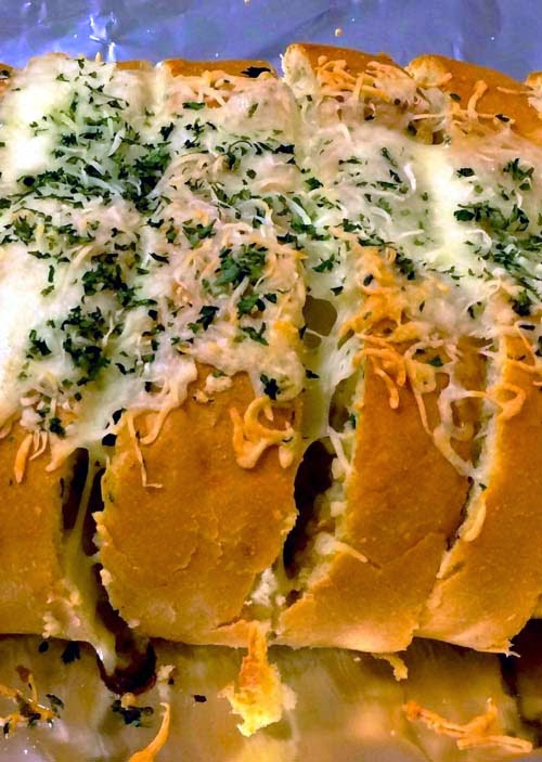 Very Cheesy Garlic Bread