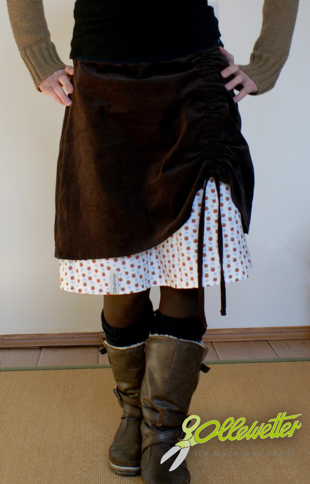 Hustler Kleidung Frauen Rock Hoodie