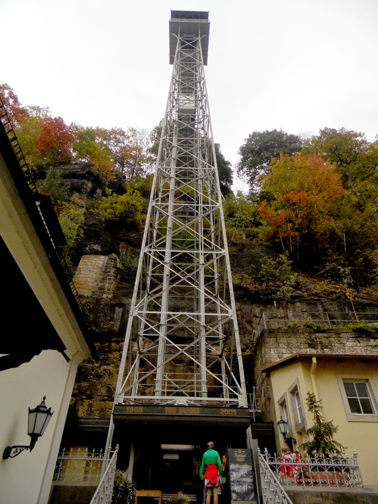 Bad Schandau elevator  by Andie Gilmour