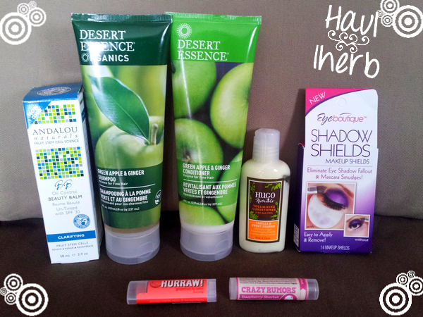 Haul iherb Andalou Naturals Desert Essence Hugo Hurraw Crazy Rumors