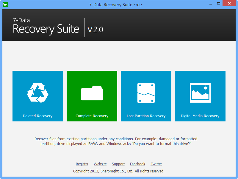 data recovery screenshot - 7-Data Recovery Suite (24 Saat)