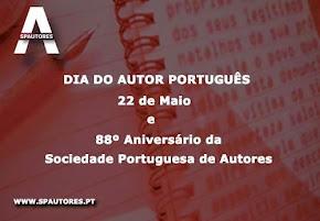 22 de Maio - Dia do Autor Português