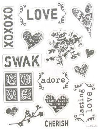 XOXOXO Clear Stamps the Paper Studio