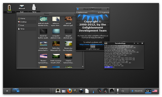Instalar escritorio Enlightenment en Ubuntu, escritorio liviano ubuntu, escritorio mas liviano linux,
