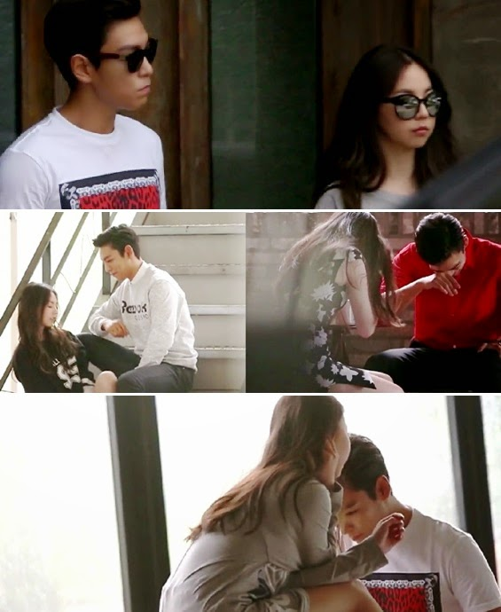 Sohee and TOP get flustered in teaser for 'Reebok' CF