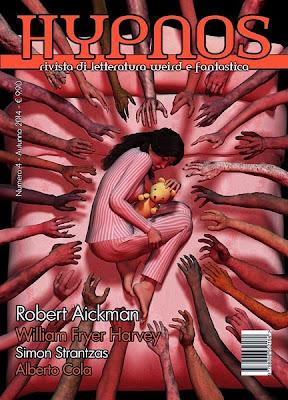 Hypnos. Vol. 4, Autunno 2014, copertina