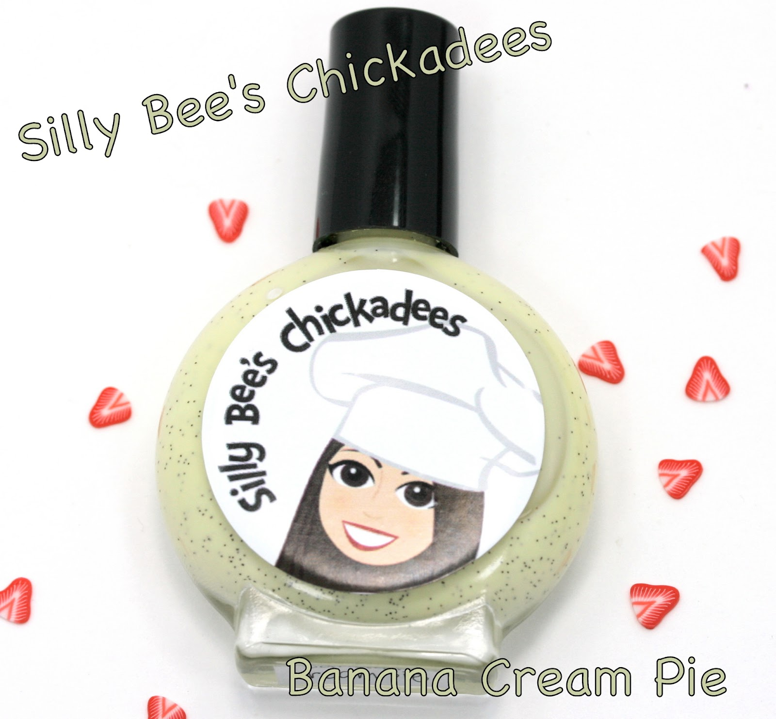 Silly Bee's Chickadees May Pie of the Month Banana Cream Pie