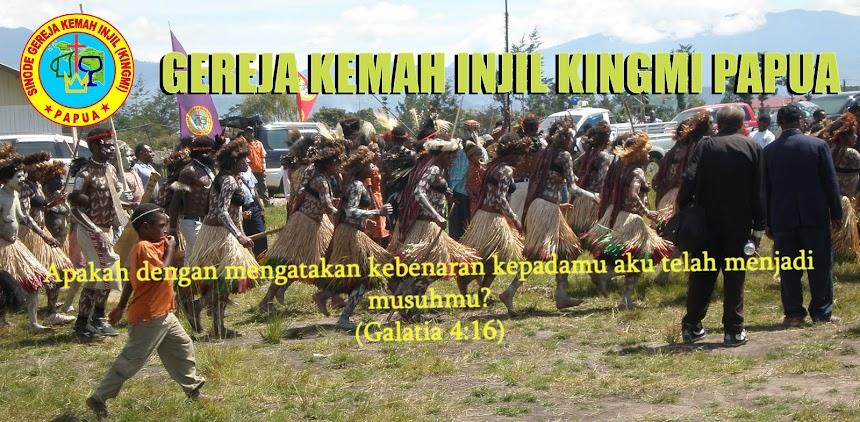 GEREJA KEMAH INJIL KINGMI PAPUA