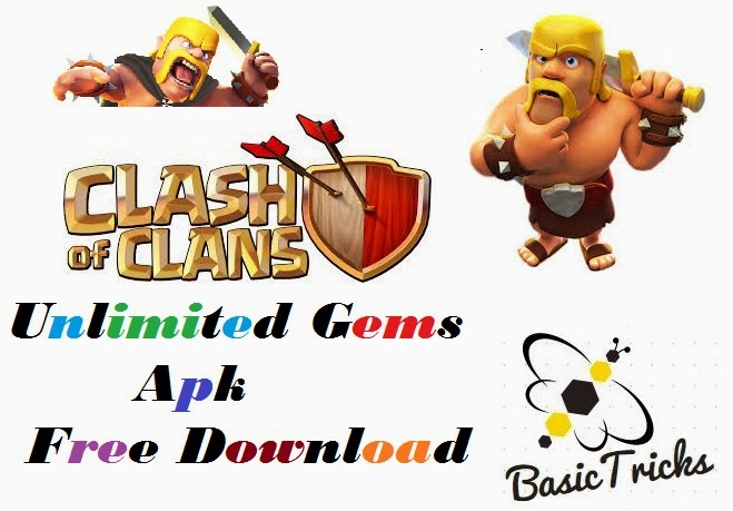 free download clash of clans hack unlimited gems apk