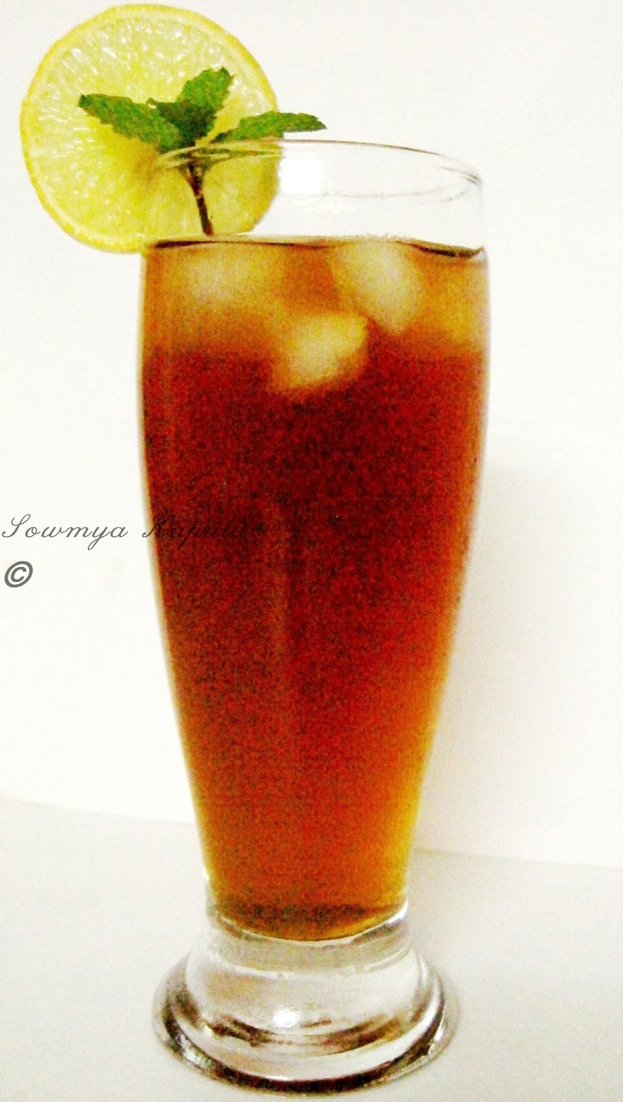 My Kitchen: Iced Tea