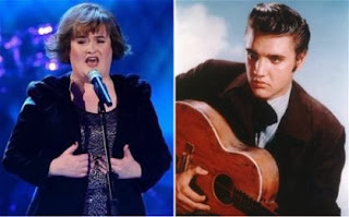 Susan Boyle has recorded a Christmas duet with Elvis