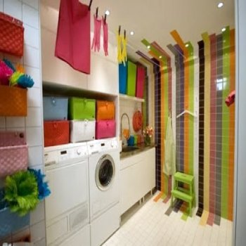 Laundry Room Design Ideas on Decorating  Practical Laundry Room Design Ideas