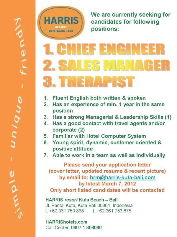 Job Vacancy Bintan