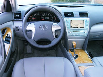 2007 Toyota Camry XLE V6 Owners Manual Interior
