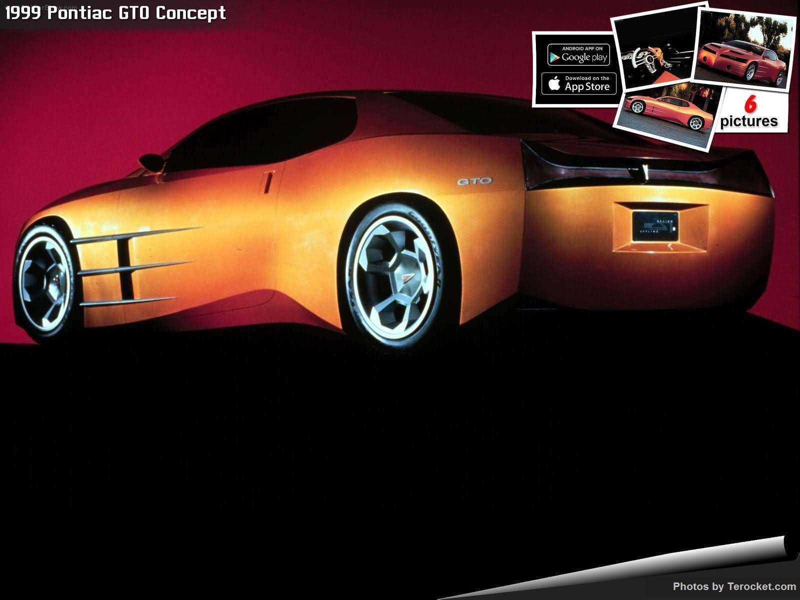 Hình ảnh xe ô tô Pontiac GTO Concept 1999 & nội ngoại thất