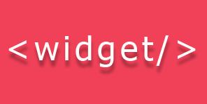Sidebar widget style dan function