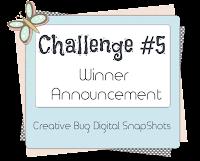 Challenge #5 Winners