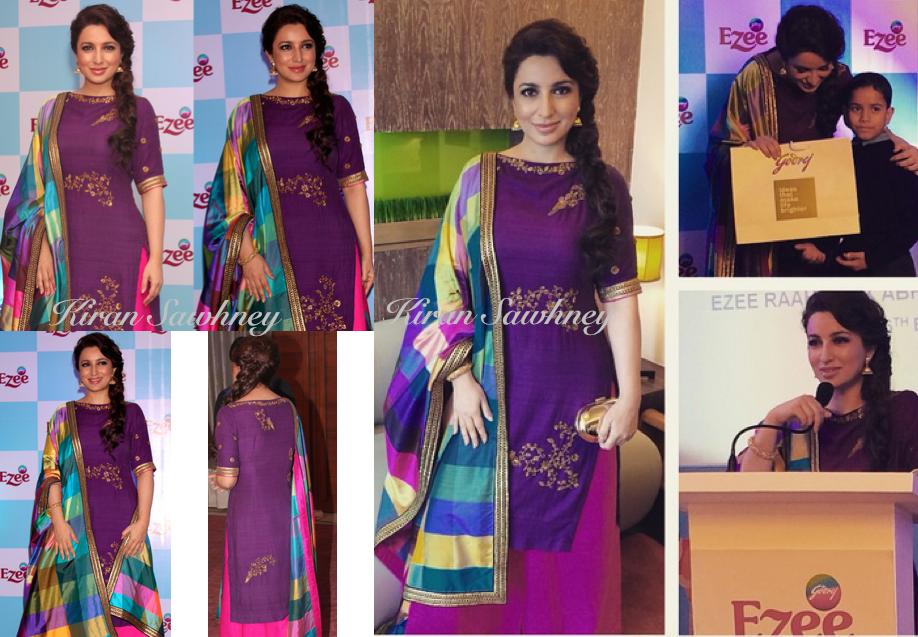 Tisca Chopra at Ezee Hugs event for Godrej Group in Delhi