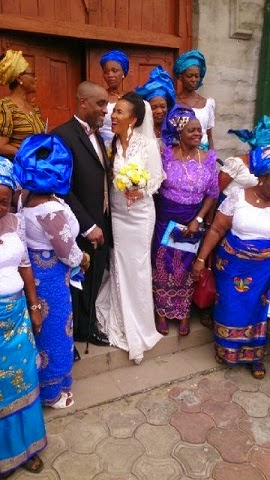 Photos From Ibinabo Fibresima's White Wedding