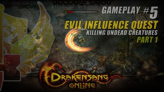 Evil Influence Quest » Killing Undead Creatures In Drakensang Online
