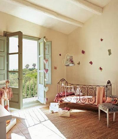 Decoraci n de interiores decoracion de cuartos infantiles for Habitaciones para ninas estilo vintage