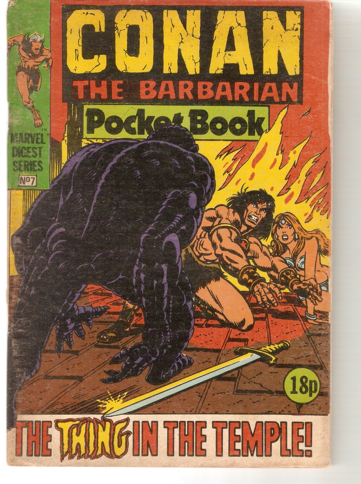 C And C >> ComicConquest: Conan the barbarian - Marvel Pocket Books