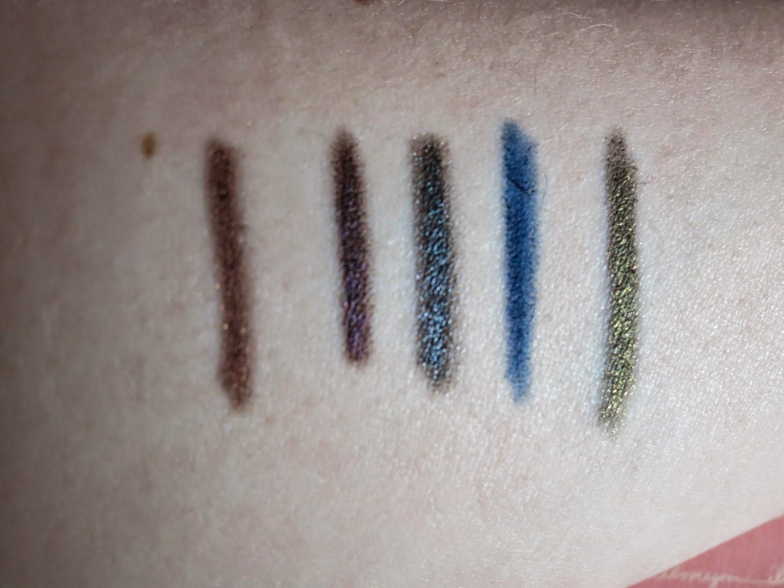 Autumn fall eyeliners makeup