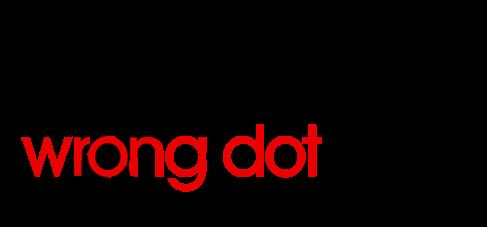One Wrong Dot Com