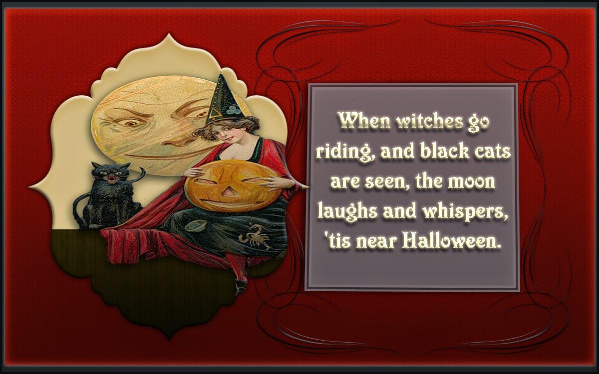 vintage halloween printable free