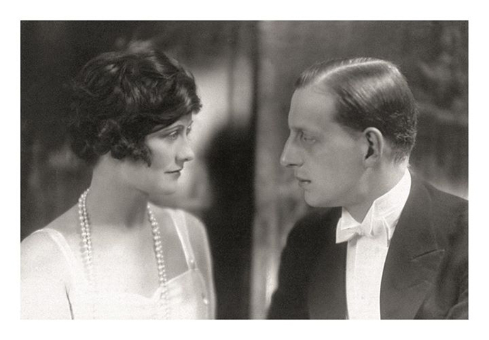 Mademoiselle Coco Chanel and her lover the Grand Duke Dmitri Pavlovich