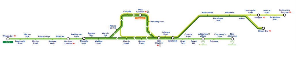 London Tramlink UrProperty SG