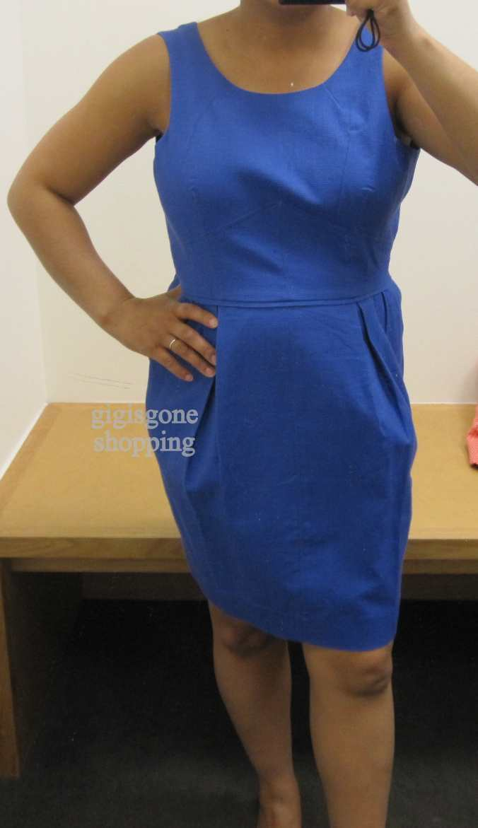 J Crew Factory Pleated Shift Dress Amp Button Back Sundress Gigi S Gone Shopping