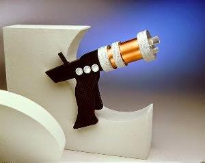 Star Trek Playmates Prototype Captain Pike's Laser Pistol