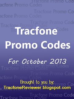 tracfone promo codes october 2013