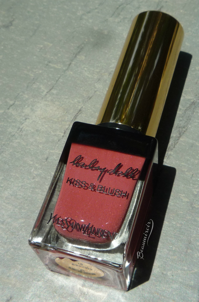 Yves Saint Laurent Baby Doll Kiss & Blush in Nude Insolent - cream blush and lipstick