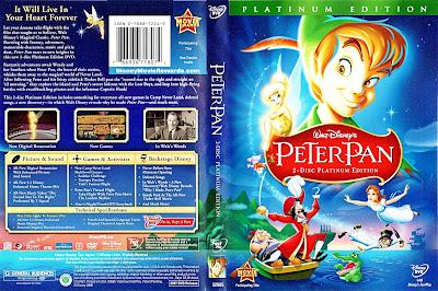 Peter Pan en Regreso al país de Nunca Jamás | Caratula | imagen