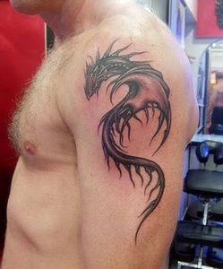 Gambar Tattoo Naga