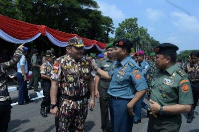 Panglima TNI Beri Tauziah Kepada Jamaah Mujahadah Dzikrul Ghofilin