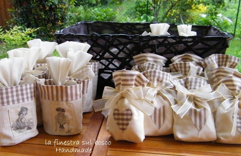 Favoloso La finestra sul bosco Handmade: Prima Comunione: sacchettini e  QL62