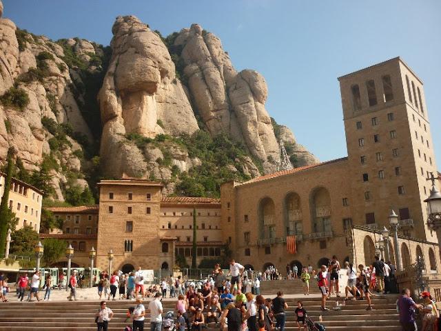 escursione al monastero di Montserrat