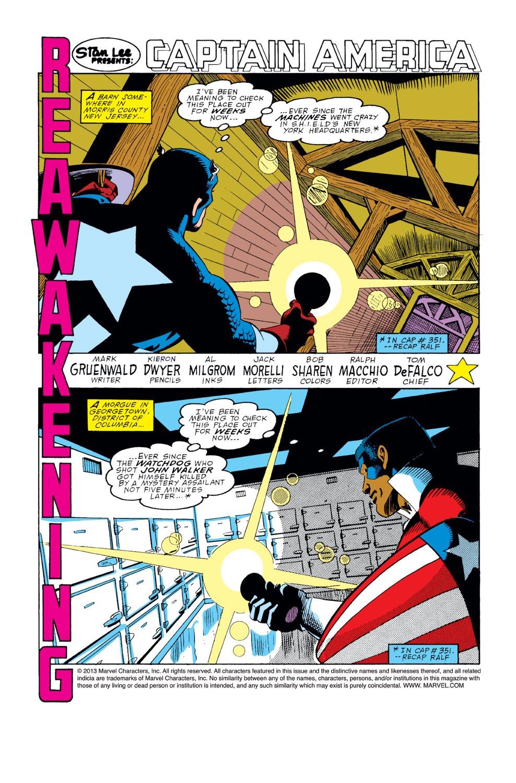 Captain America (1968) Issue #354 #286 - English 2