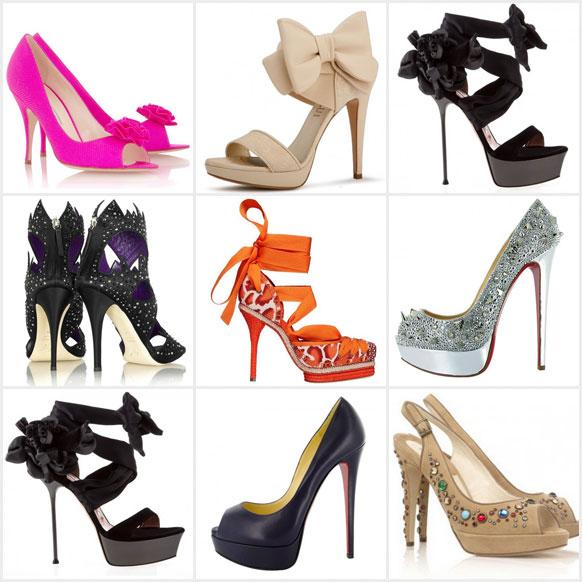 Классификация и виды каблуков