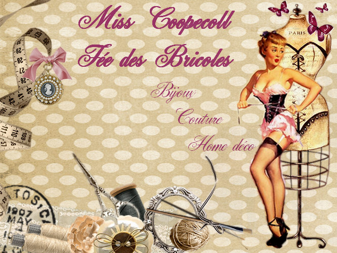 Miss Coopecoll Fée des bricoles