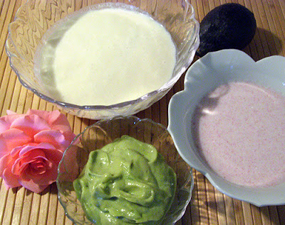 Baby Bottom Balm, Avocado Foot Mask, and Cooling Rose Cream