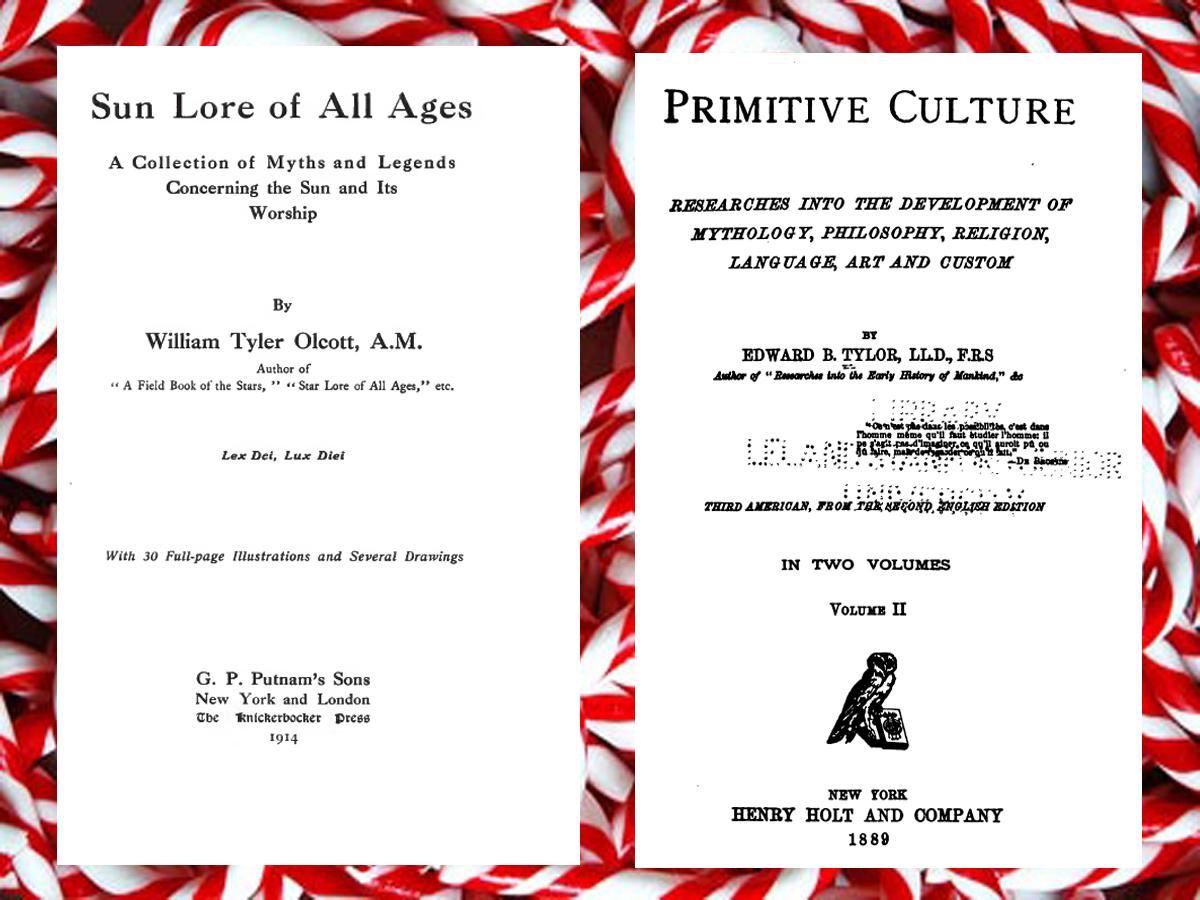 The Book Shelf: The Pagan Origins of Christmas - 40 Books on CDROM