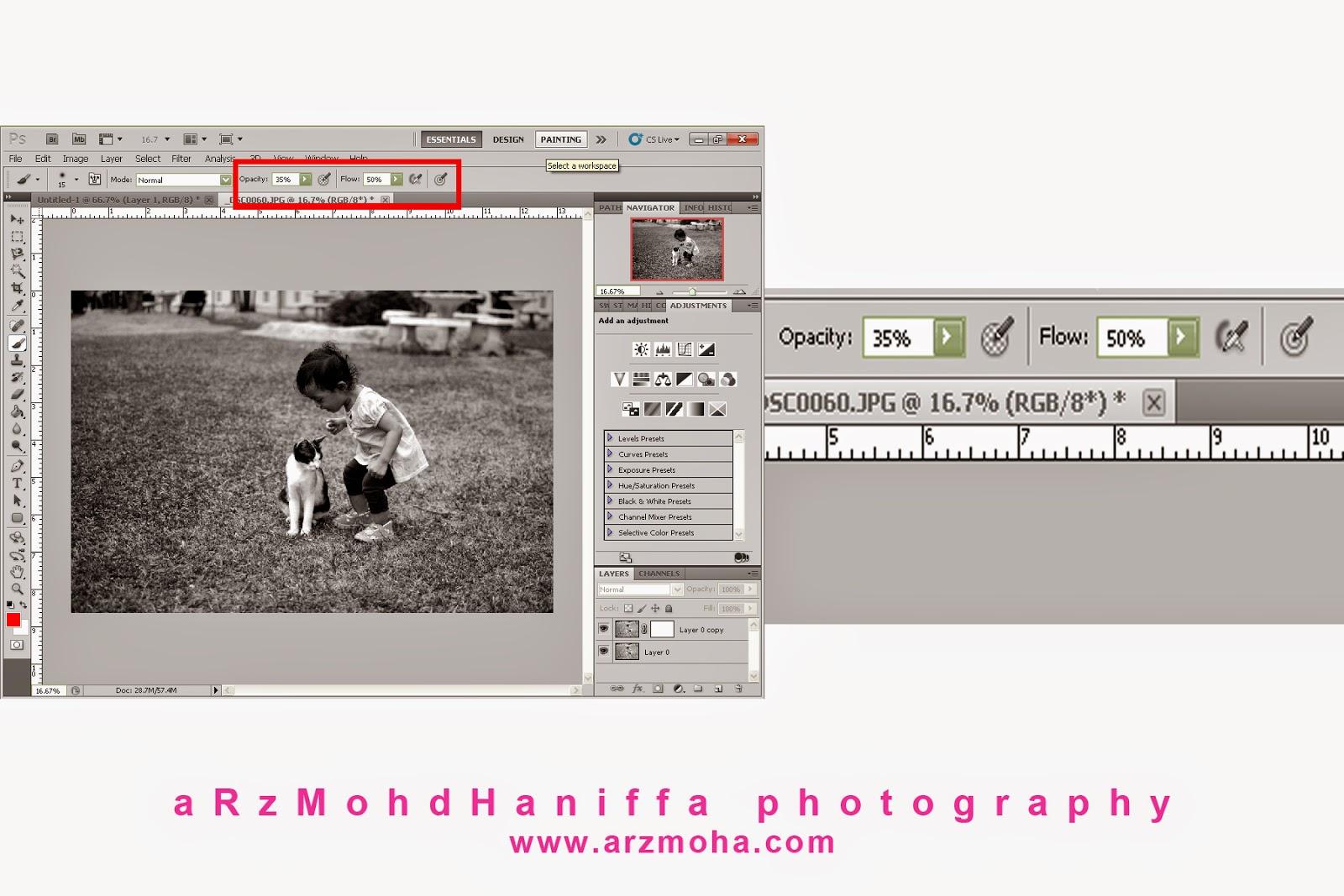 Gambar cantik, Black and White, B&W, arzmoha.com, Tips, Tutorial