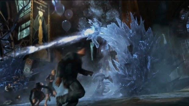 Batman Arkham Origins Cold Cold Heart screenshots