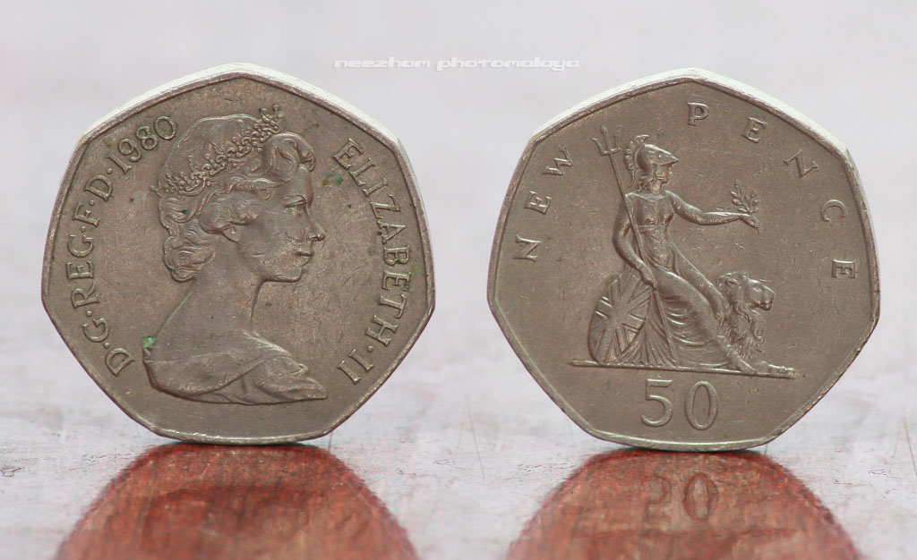 50 Pence 1980