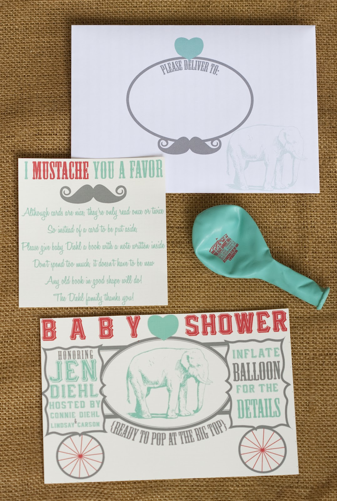 Ritzy Rosebud: {Ready To Pop at The Big Top} Circus-Themed Baby ...